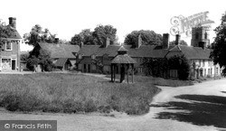 The Village Green c.1955, Westmill
