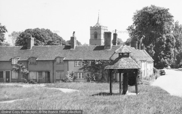 Photo of Westmill, The Village Pump c.1955