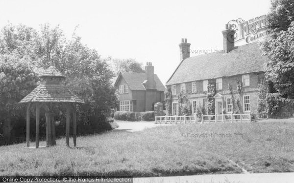 Photo of Westmill, The Village Pump c.1960