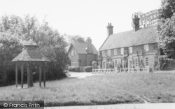 The Village Pump c.1960, Westmill