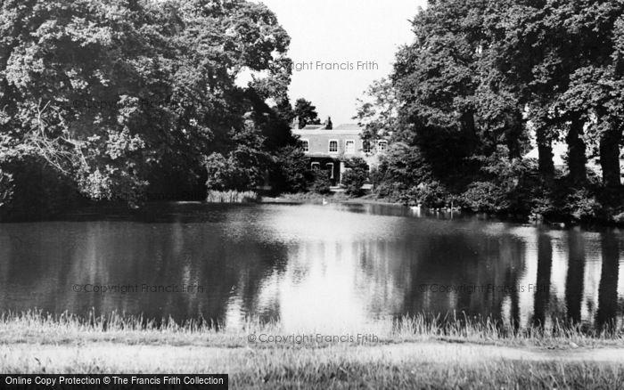 Photo of Weston Green, Church Pond c.1960