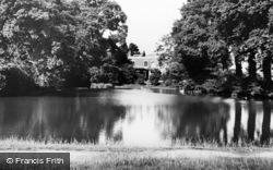 Weston Green, Church Pond c.1960