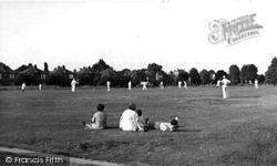 Weston Green, Cricket On The Green c.1955