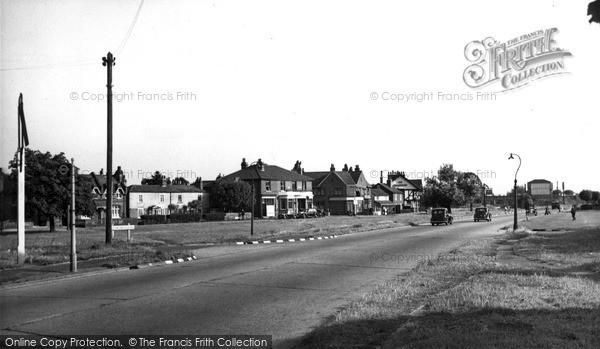 Photo of Weston Green, Hampton Courtway c.1955