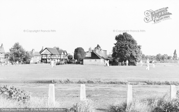 Photo of Weston Green, The Green c.1955