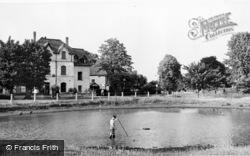 Weston Green, The Pond c.1955