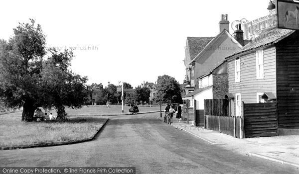 Photo of Weston Green, Village c.1955