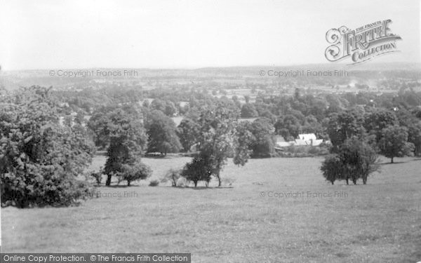 Photo of Weston Rhyn, General View c.1950