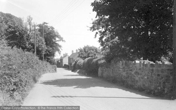 Photo of Weston Rhyn, Station Road c.1950