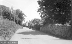 Station Road c.1950, Weston Rhyn