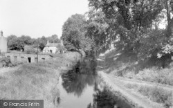 Weston Rhyn, The Canal From Rhosweil c.1950