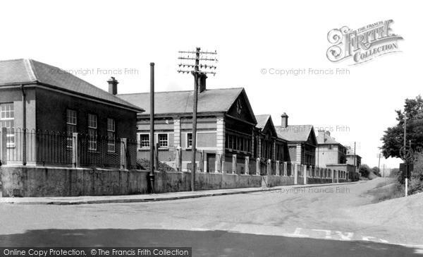 Photo of Weston Rhyn, The County School c.1950