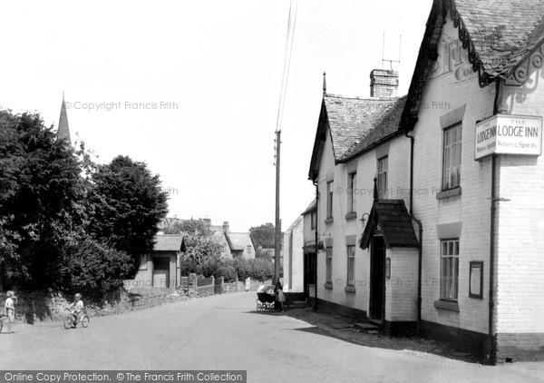 Photo of Weston Rhyn, The Lodge Inn c.1950