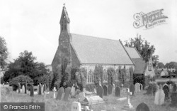 Weston Rhyn, The Parish Church c.1950