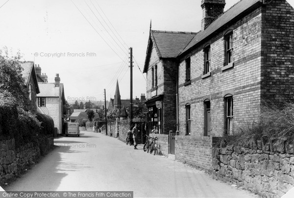 Photo of Weston Rhyn, Village and Post Office c1950