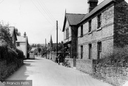 Weston Rhyn, Village And Post Office c.1950