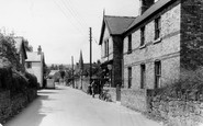 Weston Rhyn, Village and Post Office c1955