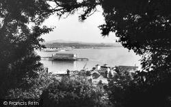 A Peep Through The Trees c.1950, Weston-Super-Mare
