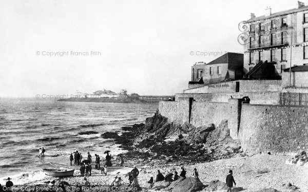 Photo of Weston Super Mare, Anchor Beach 1890