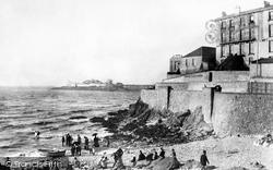 Weston-Super-Mare, Anchor Beach 1890