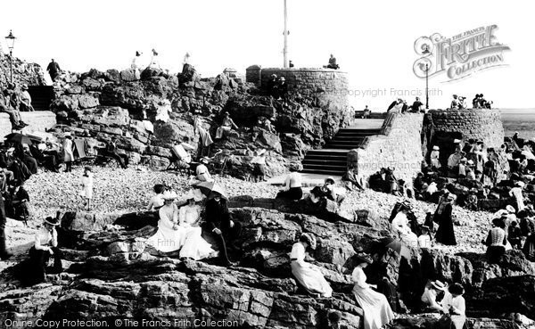 Photo of Weston Super Mare, Anchor Head 1902