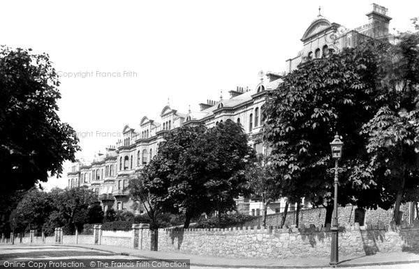 Photo of Weston Super Mare, Atlantic Terrace East 1887