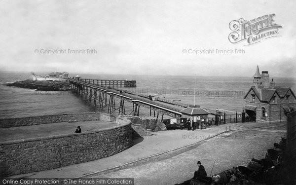 Photo of Weston Super Mare, Birnbeck Pier 1889