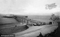 Weston-Super-Mare, Birnbeck Pier 1889
