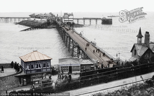Photo of Weston Super Mare, Birnbeck Pier 1913
