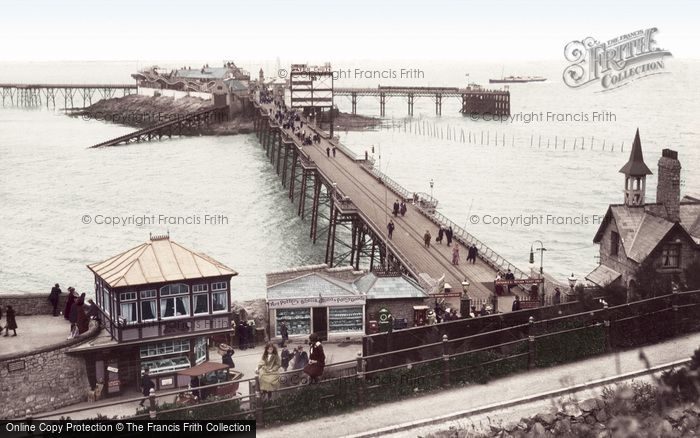 Photo of Weston Super Mare, Birnbeck Pier 1913
