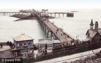 Weston-super-Mare, Birnbeck Pier 1913
