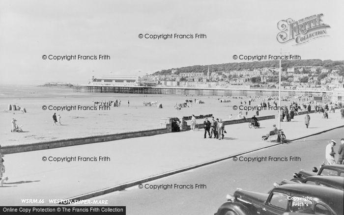 Photo of Weston Super Mare, c.1950