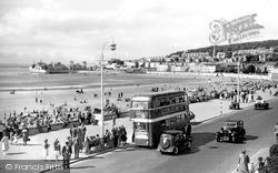 Central Promenade 1950, Weston-Super-Mare
