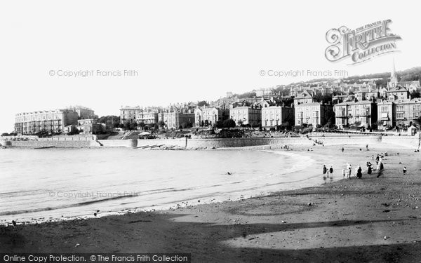 Photo of Weston Super Mare, Claremont Crescent And Madeira Cove 1901