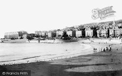 Claremont Crescent And Madeira Cove 1901, Weston-Super-Mare