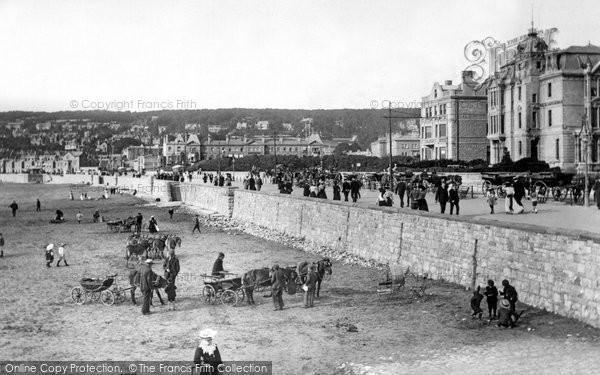 Photo of Weston Super Mare, Esplanade 1904