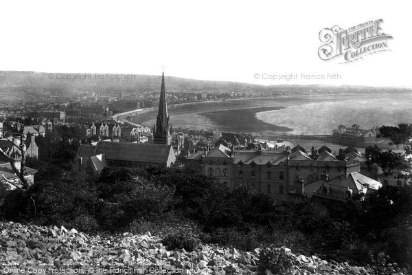 Photo of Weston Super Mare, From Encampment 1901