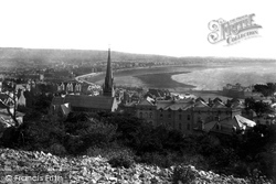 Weston-Super-Mare, From Encampment 1901