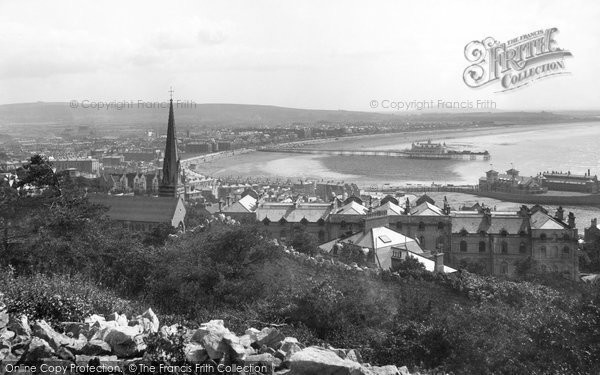 Photo of Weston Super Mare, From Encampment 1904