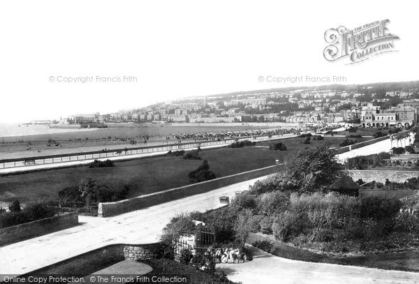 Photo of Weston Super Mare, From Grand Atlantic 1892