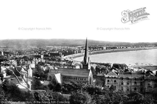 Photo of Weston Super Mare, From The Encampment 1890
