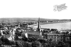 Weston-Super-Mare, From The Encampment 1890