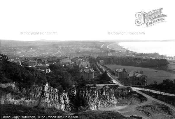 Photo of Weston Super Mare, General View 1887