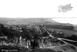 General View 1887, Weston-Super-Mare