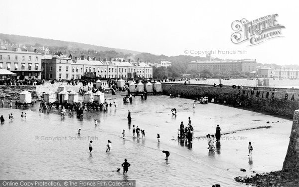 Photo of Weston Super Mare, Glentworth Bay 1887