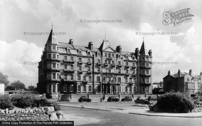 Photo of Weston Super Mare, Grand Atlantic Hotel c.1950