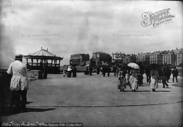 Photo of Weston Super Mare, Grand Parade 1887