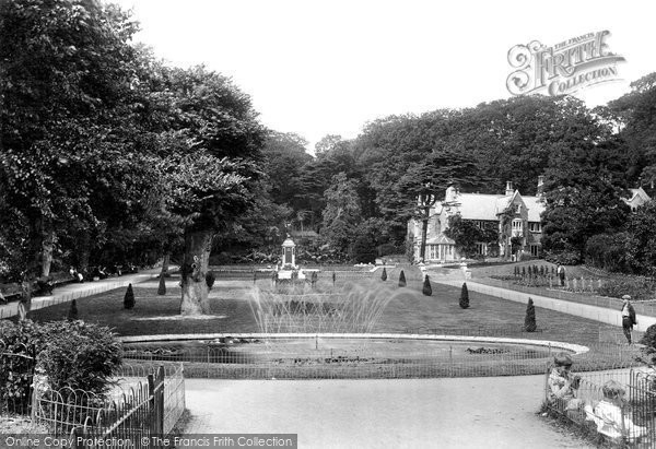 Photo of Weston Super Mare, Grove Park 1923