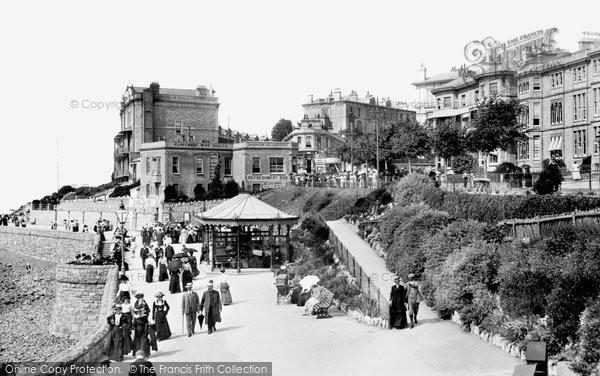 Photo of Weston Super Mare, Madeira Cove 1902