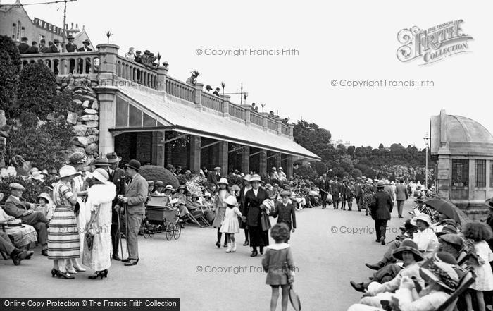 Photo of Weston Super Mare, Madeira Cove And The Bandstand 1923